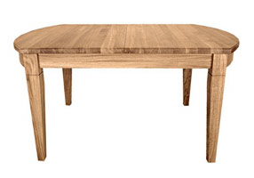 D-End Extending Dining Table